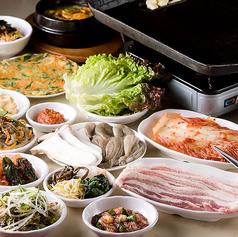釜山亭 香椎店 韓国料理の特集写真