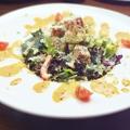 料理メニュー写真マグロとアボカドのコブサラダ