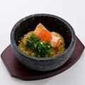 料理メニュー写真石焼き銀鮭チャーハン