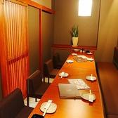 最大12名様のテーブル個室