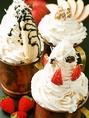 一度食べたらヤミツキになる!デザートもんじゃも食べ放題で★・イチゴミルク・バナナ・リンゴとクルミ・ぜんざい・パンプキンなど。