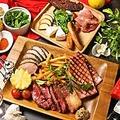 料理メニュー写真BBQ肉グリルの盛り合わせ