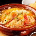 料理メニュー写真海老のにんにくオイル煮