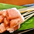 料理メニュー写真【人気串ランキング3位】豚ロース。脂が少なくサッパリ♪