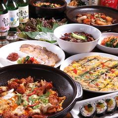 韓国料理 内房 アンパンのコース写真