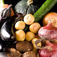 ~糸島産の野菜やフルーツをふんだんに使った料理~