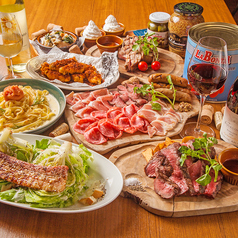 MEAT&WINE ワインホールグラマー 名駅の特集写真