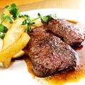 料理メニュー写真オーストラリア産ビーフ ロース ステーキ [ダブル]