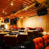 音響やマイクの設備が整ったフロア席。朝まで営業しておりますので二次会や三次会にも◎ご人数幅広くご案内致します。