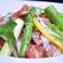生ハムとアスパラガスのサラダ