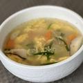 料理メニュー写真卵スープ