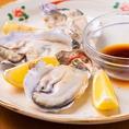 焼肉とともに海鮮もどうぞ★ホタテやイカに加え広島県産牡蠣まで!売り切れ御免の一品です。