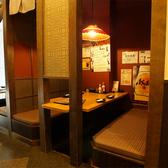 5名様まで対応■半個室テーブル席■