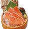 サーモンの刺身/真鯛の刺身/【北海道産】帆立の刺身