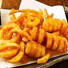 料理メニュー写真A&Wカーリーポテトフライ