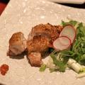 料理メニュー写真美桜鶏の岩塩焼き・柚子胡椒添え