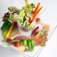 太陽をたっぷり浴びた野菜の贅沢バーニャカウダ