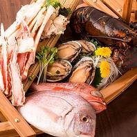 全国各地から直送されるお野菜、鮮魚から作る逸品料理