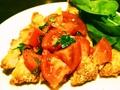 料理メニュー写真豚ロースのミラノ風カツレツ'コートレッタ'