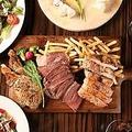 料理メニュー写真豚・鶏・お野菜の盛り合わせ