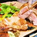 料理メニュー写真【炭窯焼き】 塩麹漬け鶏もも肉1枚