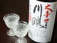 【川鶴 大辛口本醸造(香川)】芳醇で旨味が最大限に引き出され、「力強くて爽やか」な、そして「奥深く心地よい余韻が楽しめる」お酒です。