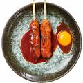 料理メニュー写真【手造りつくね】味噌たれ焼き/天然塩焼き 各種1串