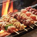 料理メニュー写真串焼き十種盛り
