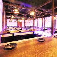 エリア最大級の160名様OKナ宴会場を完備しております!