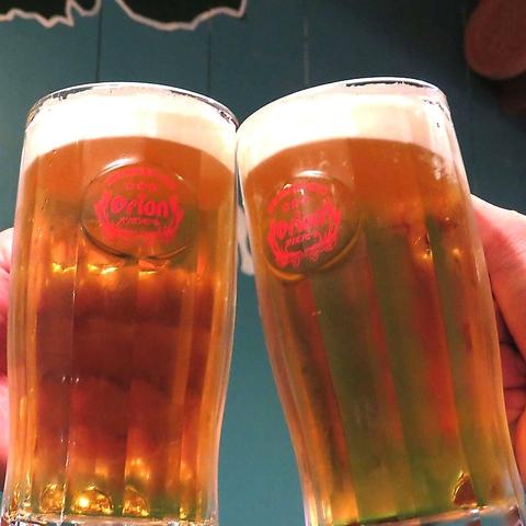 【単品飲み放題】最初の一杯はオリオンビールも注文可能!全30種以上⇒120分1500円(税込)