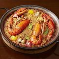 料理メニュー写真オマール海老のパエジャ