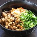 料理メニュー写真ブタ丼(並)