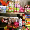 沖縄の銘産物も置いています!沖縄に行ったような気分に♪ついついお土産を買いたくなっちゃいます!