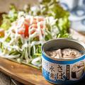 料理メニュー写真さば缶サラダ