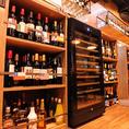 CONAのこだわりワインセラーには常時80種以上の厳選された自慢のワインが並んでいます♪ワインボトルALL1900円でOK