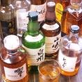 仕事終わりにサクッとウィスキーは如何でしょうか?当店では日本のものを中心に様々な種類をご用意しております!デートや誕生日など特別な日は勿論、様々な場面でご利用頂けます!