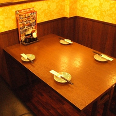 少人数のご宴会にもオススメのお席アリ。人数に合わせてお席をご用意♪