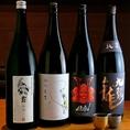 日本各地の銘酒をご堪能ください。