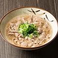 〆にあっさりとした物が食べたい方には「お茶漬け」や「しらす飯」、それだけでは物足りない方には「〆の肉吸い」や「豚骨ミニラーメン」がオススメです。