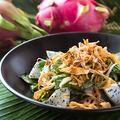 料理メニュー写真ほうれん草と空芯菜のVEGANサラダ