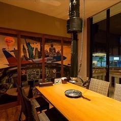 マリーナを眺めイルミネーションが美しいお部屋です♪セントレア空港も近く、食後は海辺をお散歩するのが店長のおすすめデートコース!