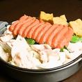 姫路ではあまり食べられない【明太もつ鍋】1600円【姫路・和食・鮮魚】