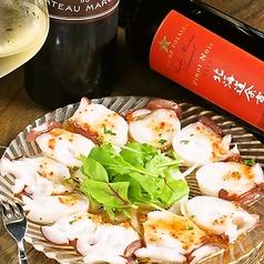料理メニュー写真北海道産地直送 水蛸のカルパッチョ