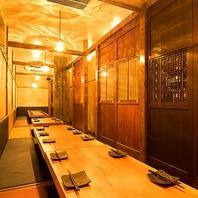 渋谷で本格和食の宴会・接待をするなら!個室も充実!