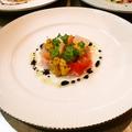料理メニュー写真天然鮮魚のカルパッチョ