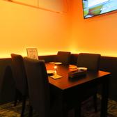最大8名様までご利用いただけるテーブル席!落ち着いた雰囲気なので女子会や誕生日会など幅広くご利用いただけます♪