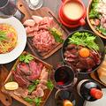 料理メニュー写真限定★ローストビーフや肉寿司も!3H飲み放題付10品『全牛コース』4980円⇒3480円