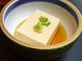 料理メニュー写真ごま豆腐