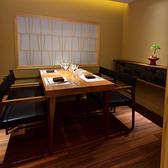 【個室】記念日ディナー、接待や会食に。個室は2名様~4名様でご利用いただけます。