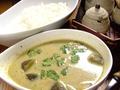 料理メニュー写真タイ風グリーンカレー・ナシゴレン・タイ風チャーハン
